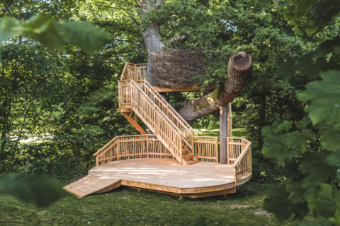Dewsall Court Treehouse